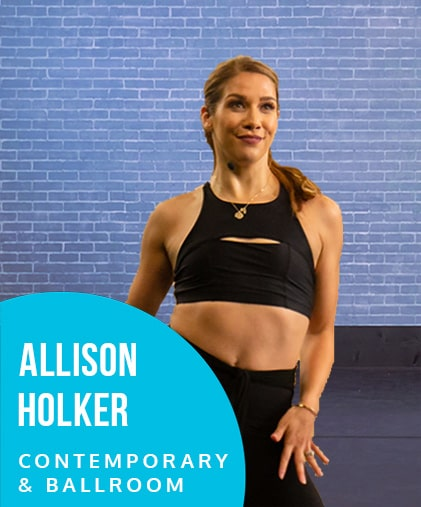 Learn Contemporary and Ballroom dance with Allison